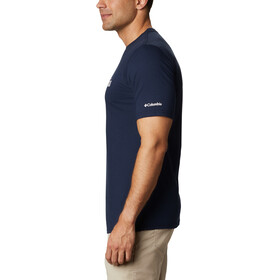 Columbia CSC Basic Logo Camiseta Manga Corta Hombre, azul